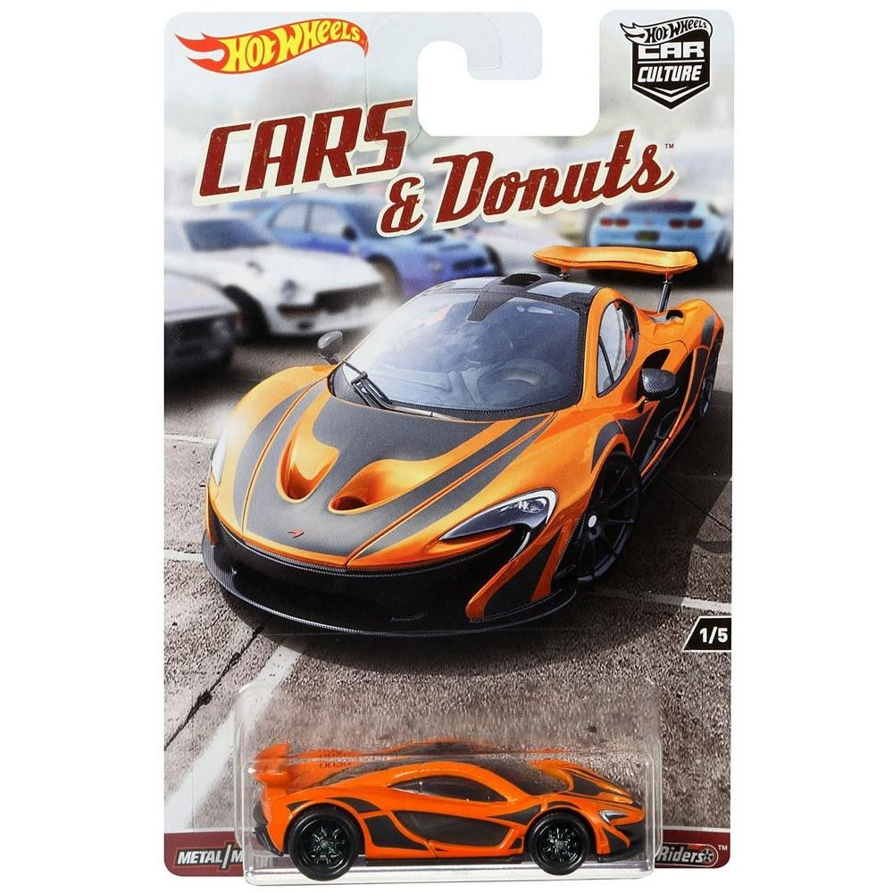 Hot Wheels Car Culture Cars and Donuts McLaren P1 Die-Cast Car #1/5 #mclarenp1