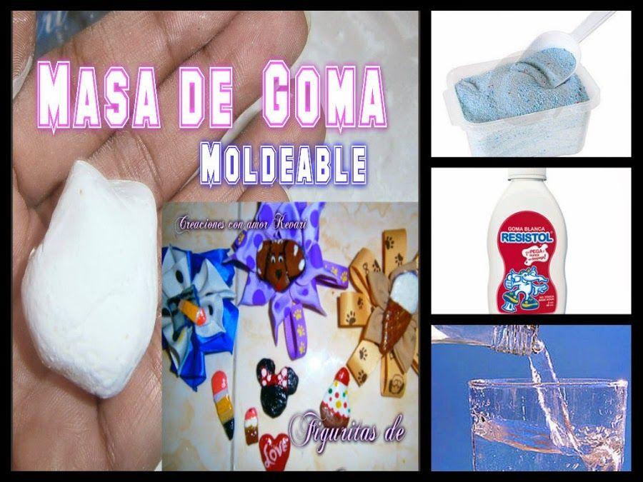 Receta casera: masa para modelar DIY | Manualidades, Pasta flexible ...