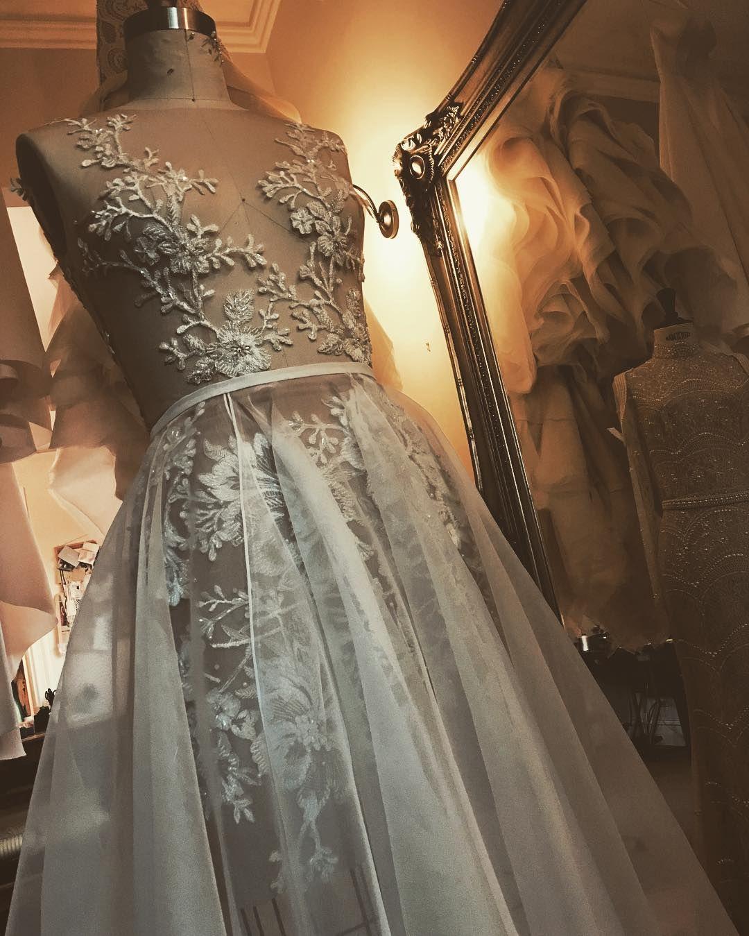A new sample in the making.... #detachableskirt #bride #bridalcouture #bridetobe #custommade #contemporarycouture #contemporarybride #helenmanuell #guipurelace #frenchlace #couture #couturebride #couturefabrics #bridalinspiration #wedding #weddingdress #weddinginspiration #melbbride #australianbride #sydneybride #australiandesigner #nycbride #dubaibride #internationalbride #bridaldesigner #weddedwonderland #bridalbutterfly #cosmobride #luxefashionblogger  #thedreamdayco