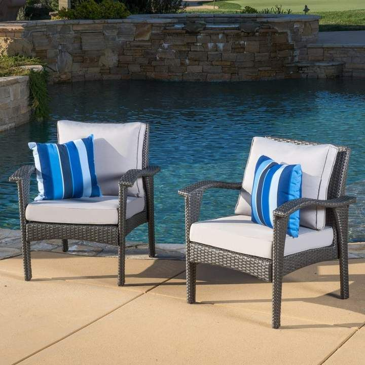 Sol 72 Outdoor Hagler Patio Chair With Cushion
