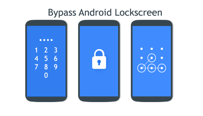 Hack and bypass locked android screen of Password, pattern