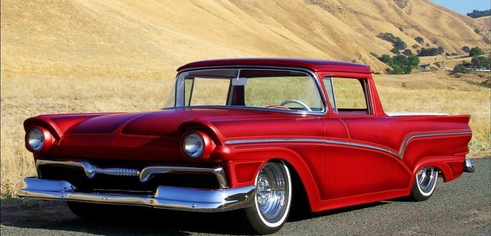 Car photographers & Great mild custom 57 Ford Ranchero. Always loved this year of Ford ... markmcfarlin.com