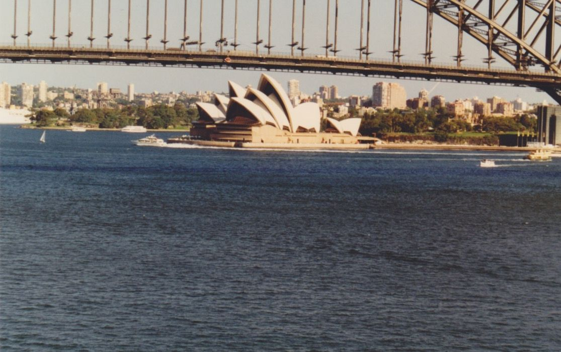 The Sydney Opera House from our room at Harbourside ...