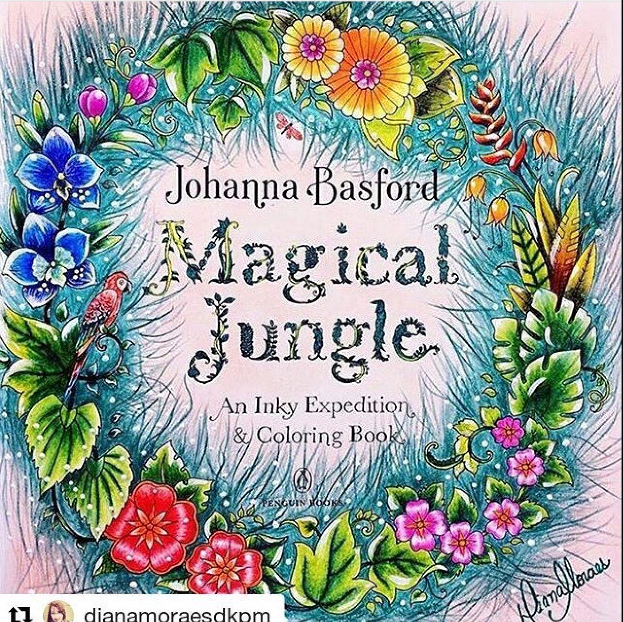 magic jungle johanna basford magical jungle johanna basford
