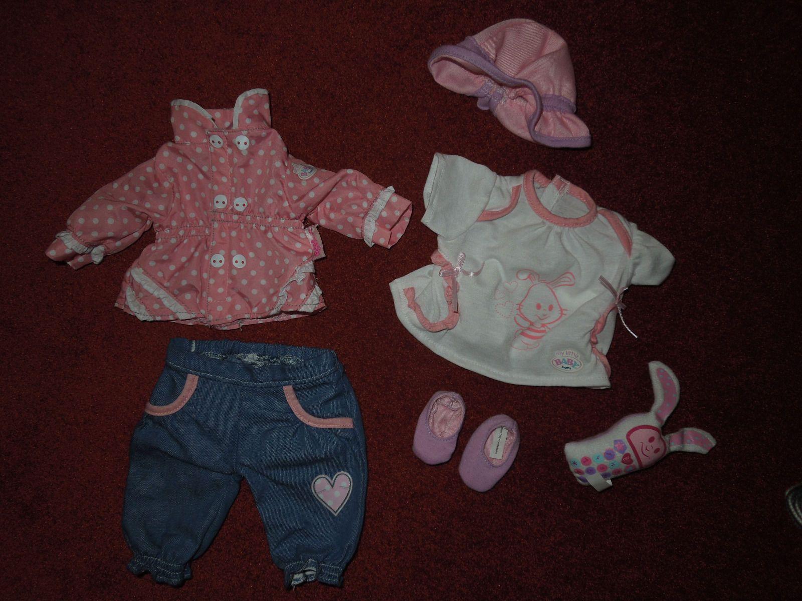 57573d4b77fc36 my little Baby Born Bekleidungsset (6-teilig) von Zapf Creation in Spielzeug ,