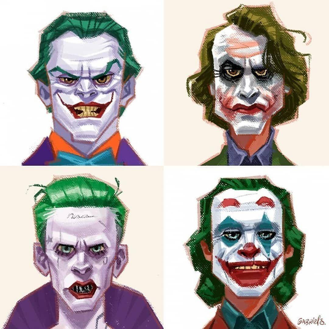 Who is your favorite Joker?.By @gabriel.soareszz ...