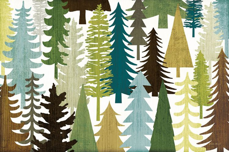 The woodland leaves collection | Michael Mullan