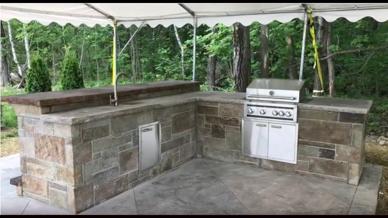 diy kitchen how to build an outdoor kitchen modular panel assembly build outdoor kitchen on outdoor kitchen diy id=98304