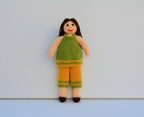 Daisy Doll Pattern By Joanna Marshall Daisy Rag Doll Knitting