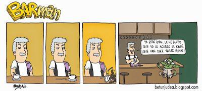 Betún de Judea - Webcómic o algo así: Barman #22