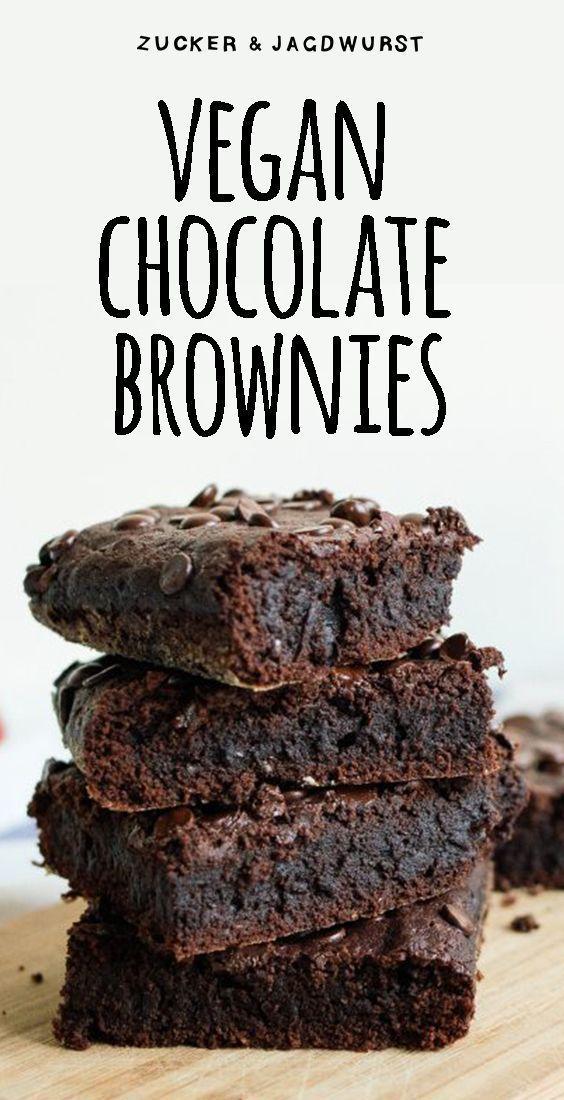 Vegan Chocolate Brownies -