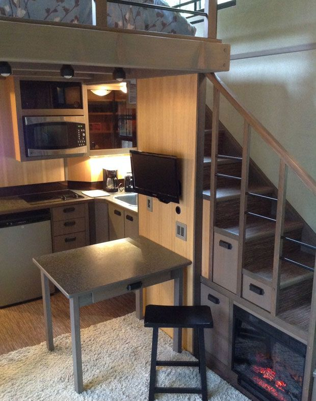 Minihus-kjøkken