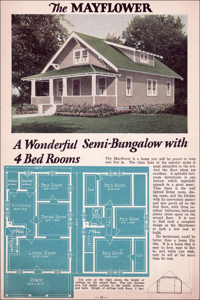 Pin On Vintage House Plans 1930s
