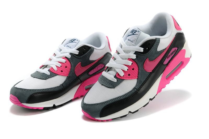 black and pink nike air max 90