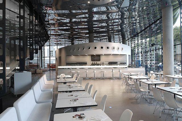 Reception space, futuristic space destination wedding