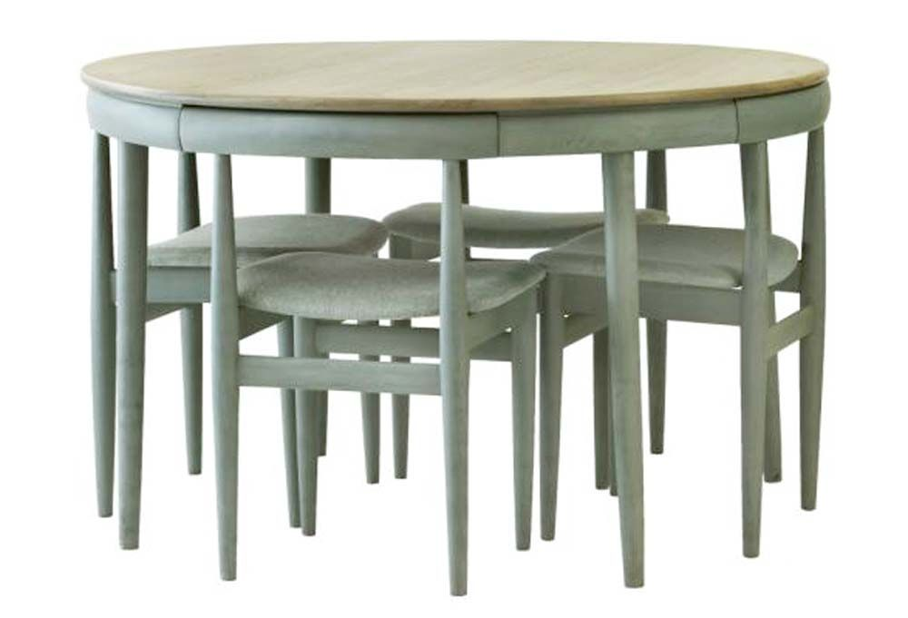 Love The Way These Chairs Tuck Neatly Into The Table Frame