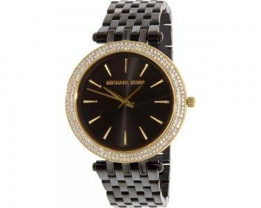 TumbleDeal.com - Michael Kors Parker Animal Tan Stainless-Steel Quartz Women's Watch