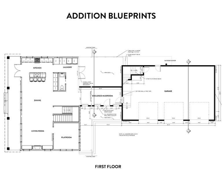 Building Home Our Garage And Mudroom Addition Fresh Exchange Garage Addition Attached Garage Plans Garage Floor Plans