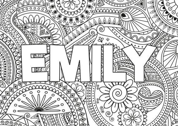 mandala font - Google Search | Name coloring pages ...