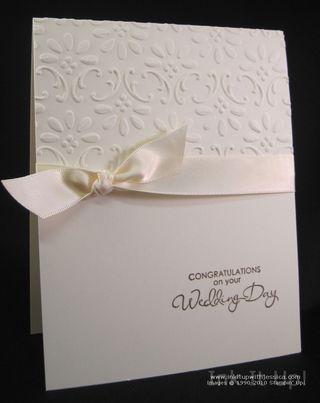 Wedding card simple