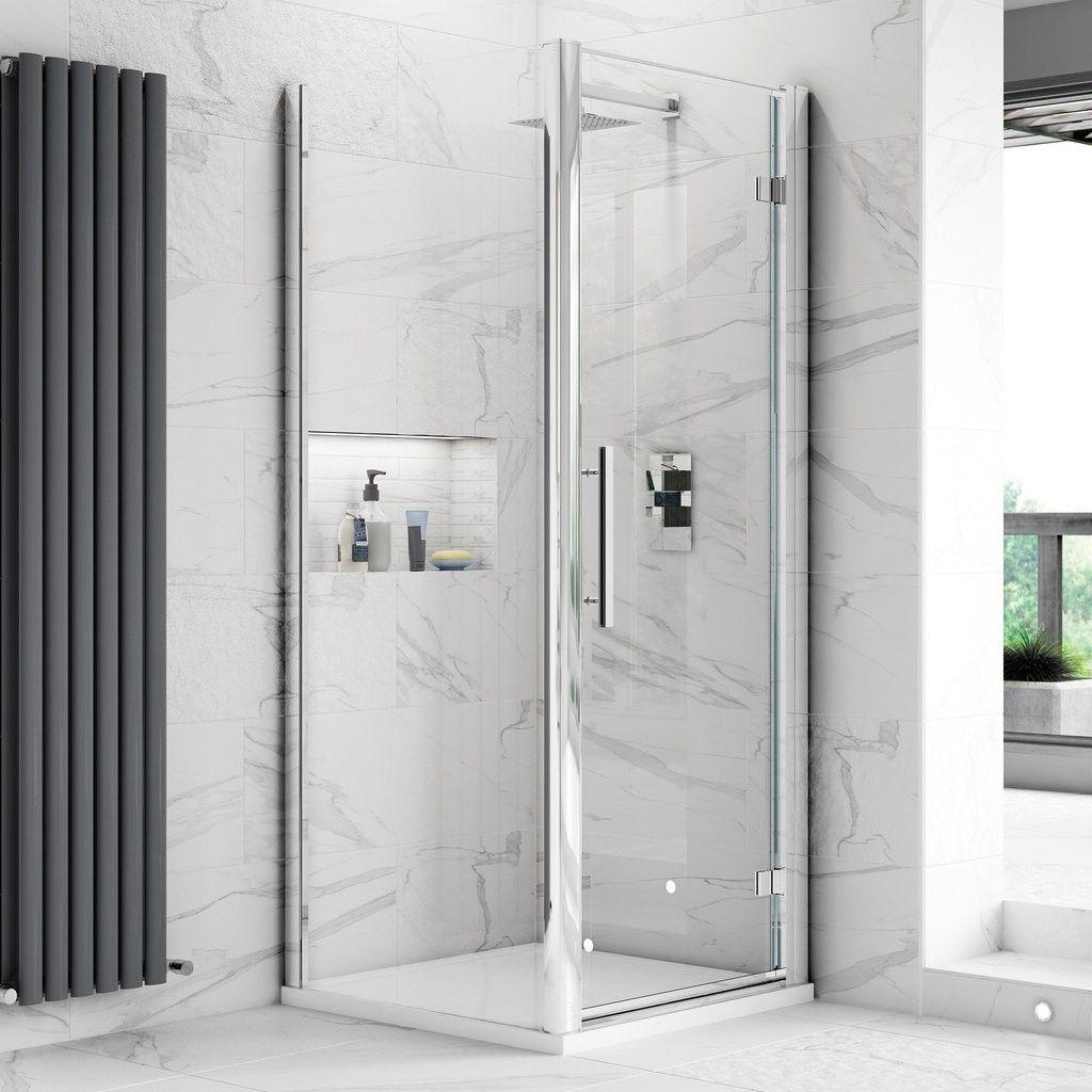 Fortuna Elite 8mm Frameless Pivot Shower Door Enclosure 700mm With Images Shower Doors Shower Enclosure Locker Storage