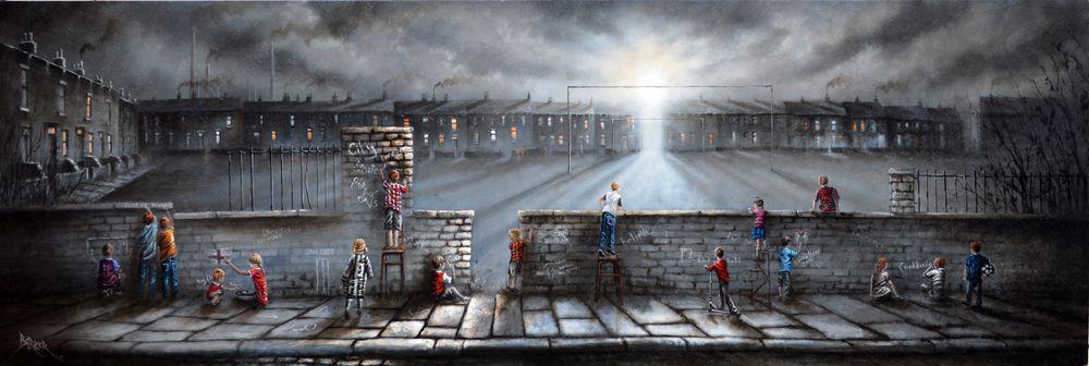 Bob Barker Arte: Campo de sueños
