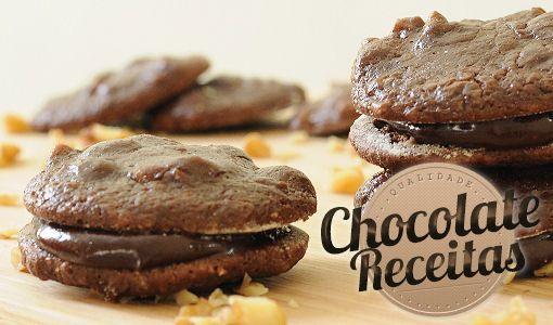 Chocolate Receitas: Cookie de Chocolate