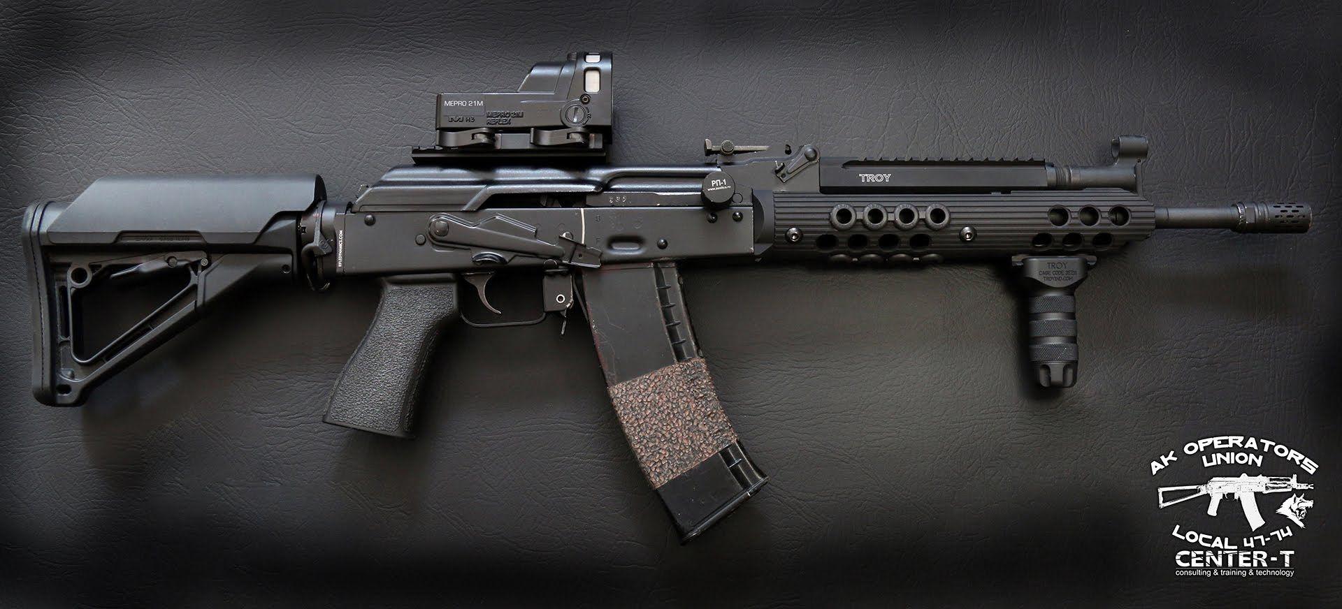 Pin by Keith Matlock on Ak's | Ak 74, Guns, Troy industries