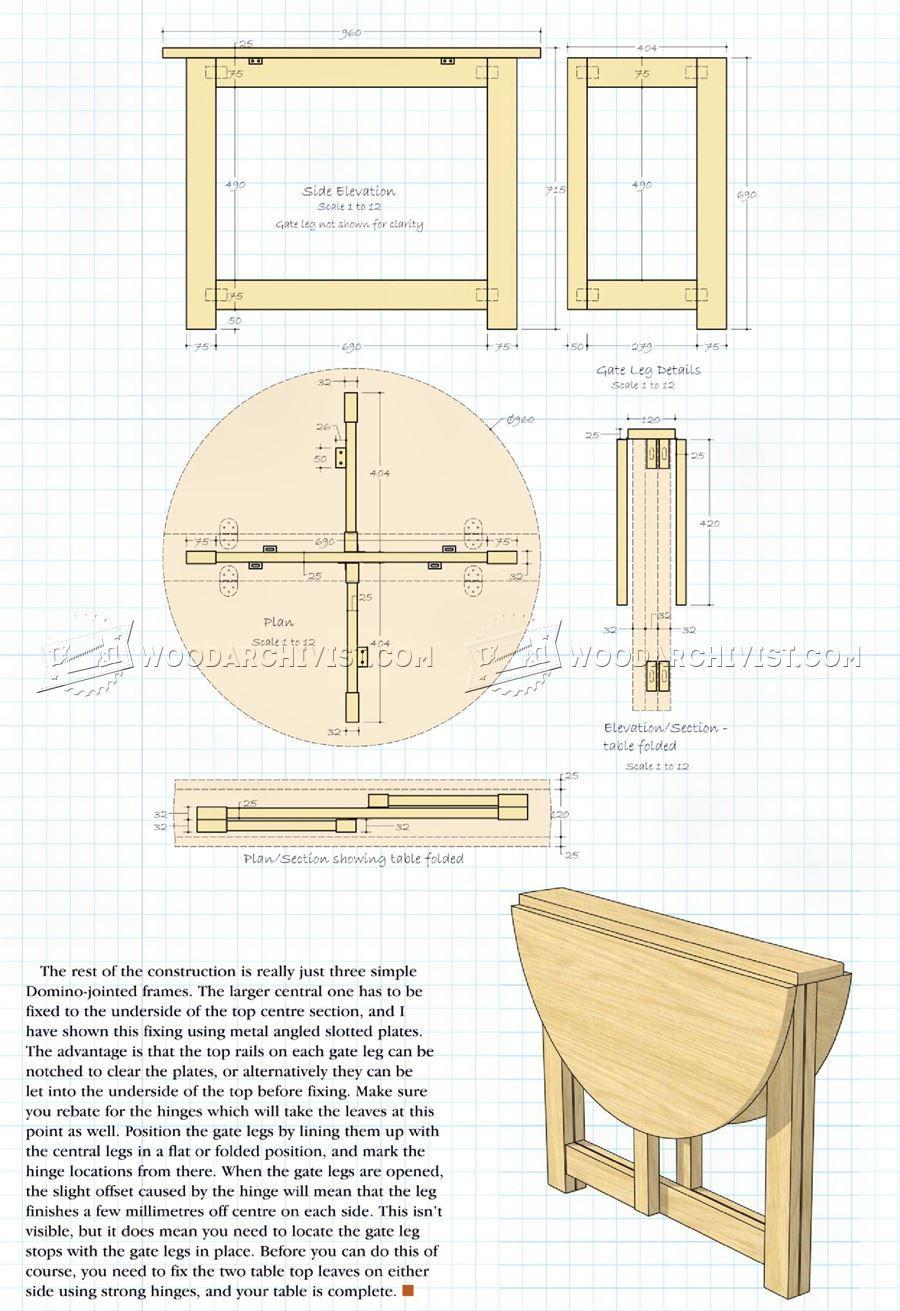 Drop Leaf Table Plans Living Room Plan Drop Leaf Table