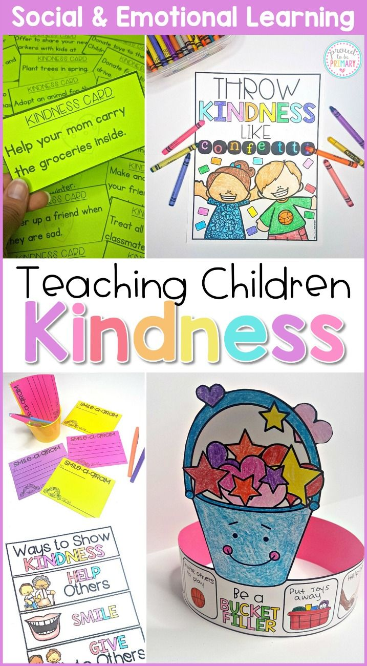 Kindness & Bucket Filling - Social Emotional Learning ...