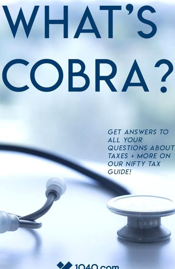 Whats COBRA? First the name it stands for Consolidated ...