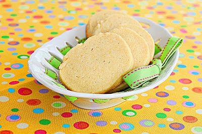 Egg-yolk cookies - Roxana's Home Baking