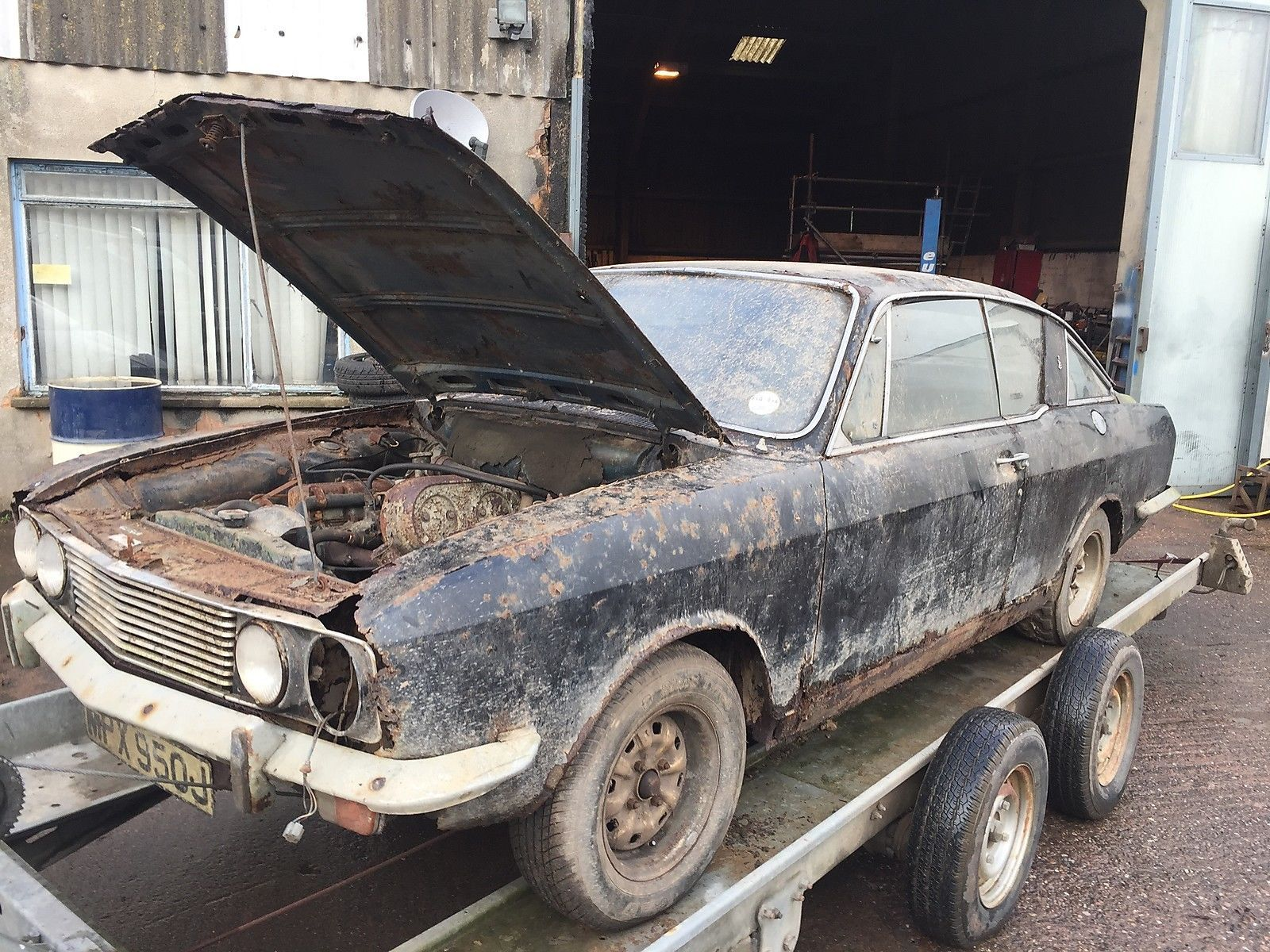 SUNBEAM RAPIER FASTBACK PROJECT See ebay listing >> https://rover ...