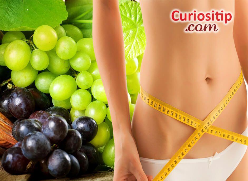 dieta de la uva para perder peso rapido