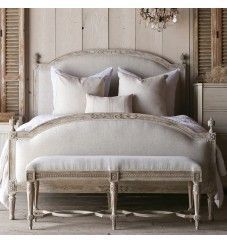 Photo of French Style Eloquence Beach House Natural Dauphine Bed