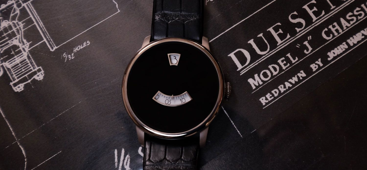 From retrofitting classic cars with modern innards, Jonathan Ward has taken to creating his first watch, the Icon Duesey.