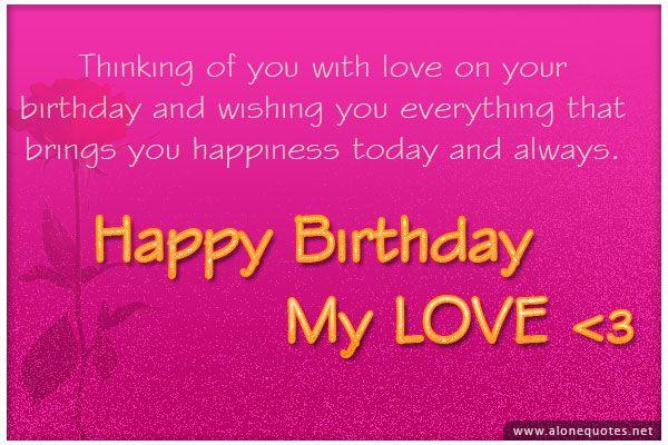 birthday picture quotes for boyfriend 3 Birthday Picture Quotes – Birthday Greeting for Boyfriend