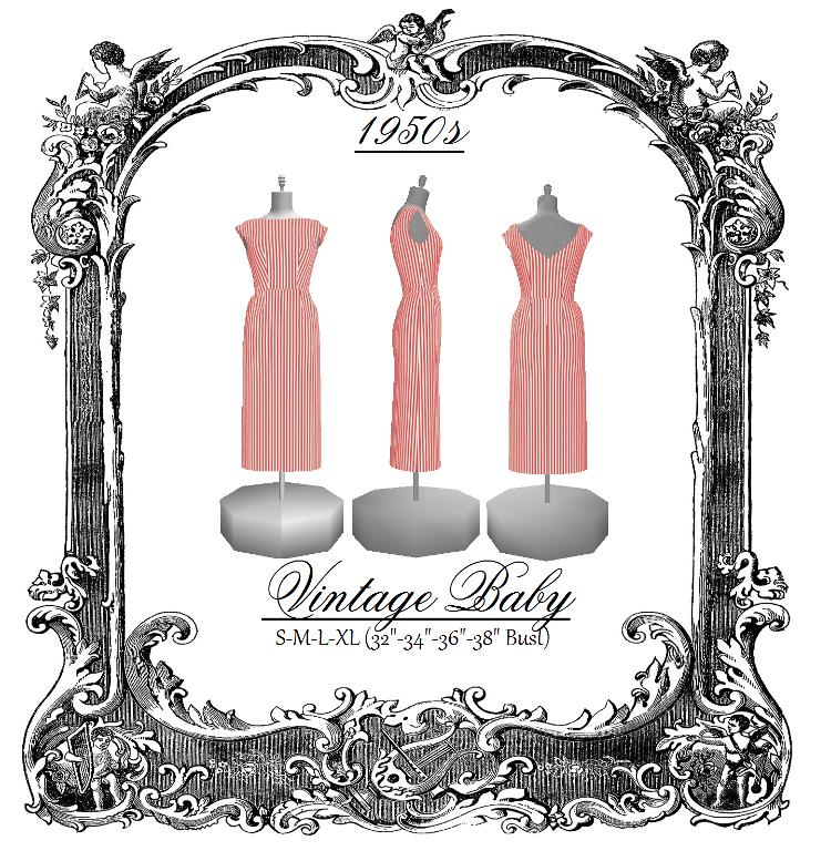 9) Nombre: \'Costura: Vestido Vintage patrón de costura 1   patrones ...