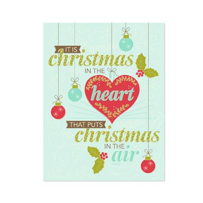Christmas In The Heart Framable Template | Stampin\' Up! - My Digital ...
