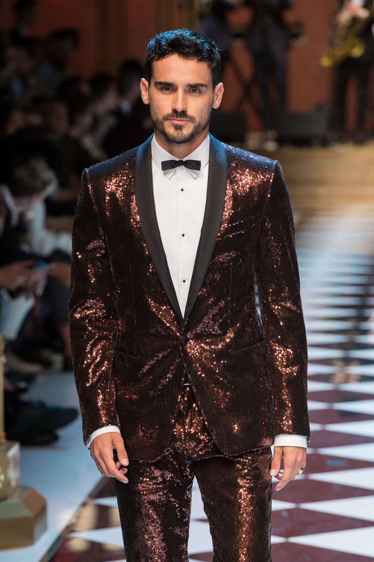 """17abf0c08bad Dolce and Gabbana S S 2017 Menswear Milan Fashion Week """""""