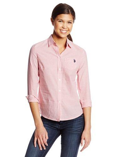 U.S Polo Assn Juniors Long Sleeve Pocket T-Shirt