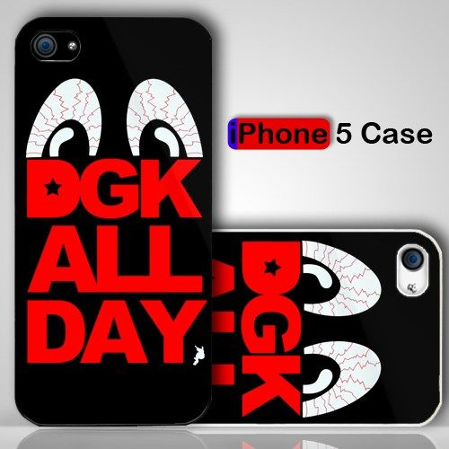 Dgk All Day Logo Custom Iphone 5 Case Cover Iphone 5 Case Iphone
