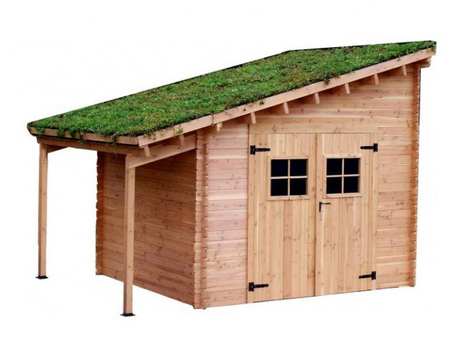 24 Abris Pour Votre Jardin Abris De Jardin Elle Decoration Abri De Jardin Abri De Jardin Bois Et Amenagement Devant Maison