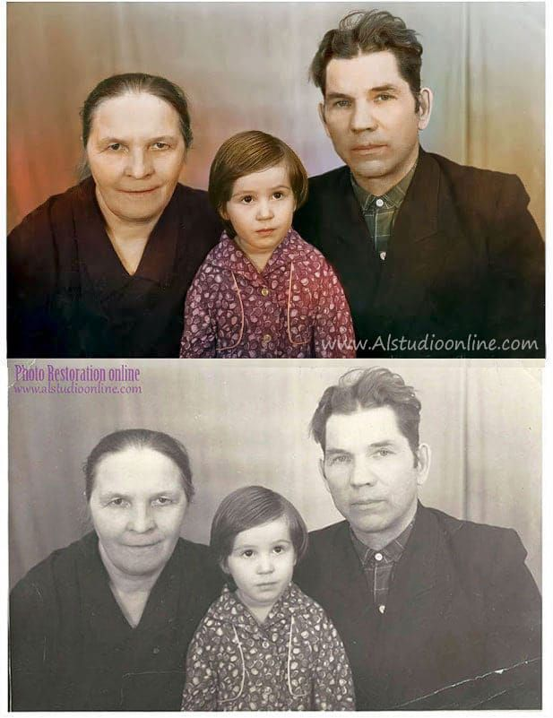 Pin by AndreY Zavgo on Restoration of old or damaged photographs ...