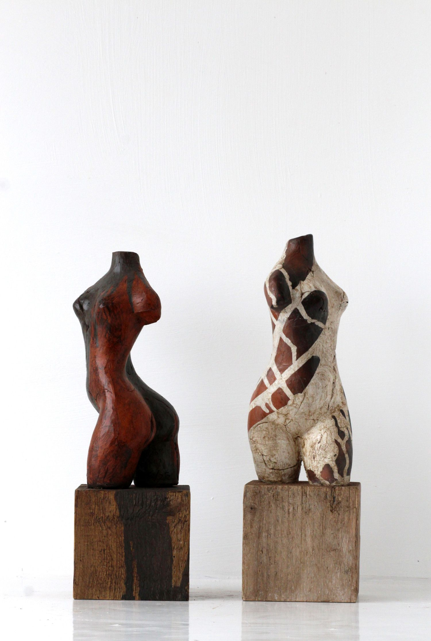 Sophie Howard sculptures - upcoming artist at the Square Club.