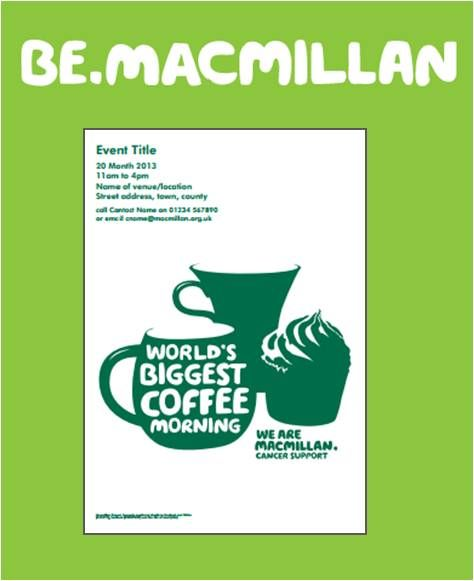 A Lovely Poster For You To Promote Your Coffee Morning