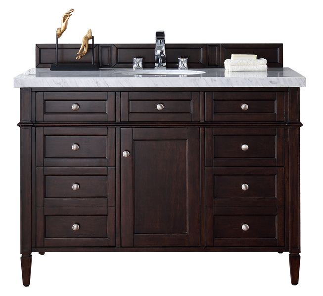 48 Brittany Single Bathroom Vanity Mahogany
