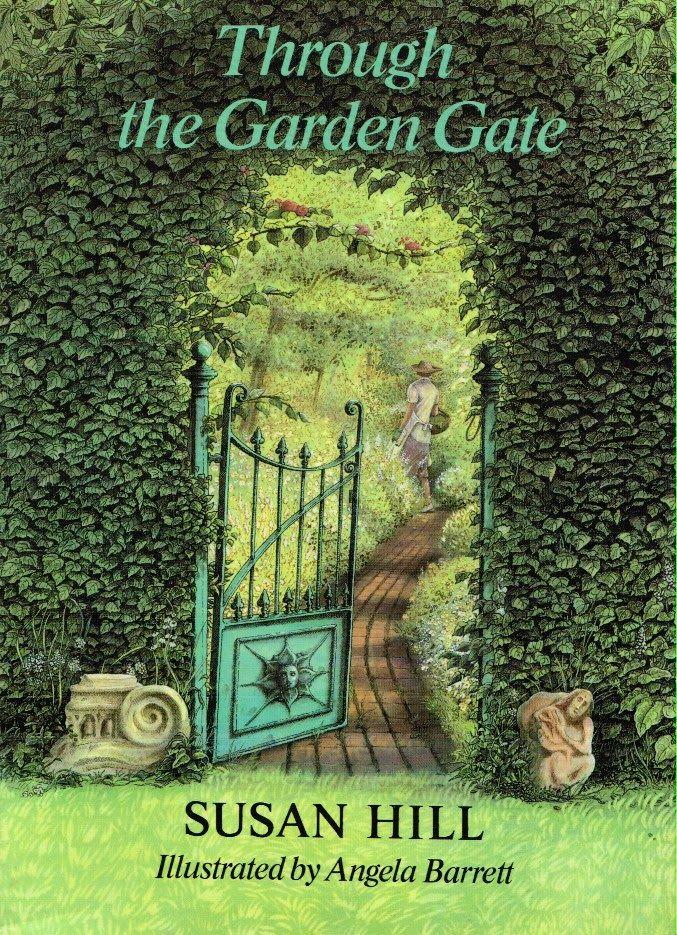 Angela Barrett Through The Garden Gate Secret Garden Book