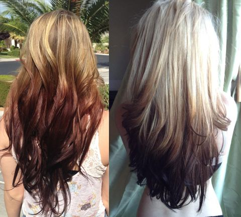 5 New Hair Color Trends To Try In 2015 Reverse ombre Parents