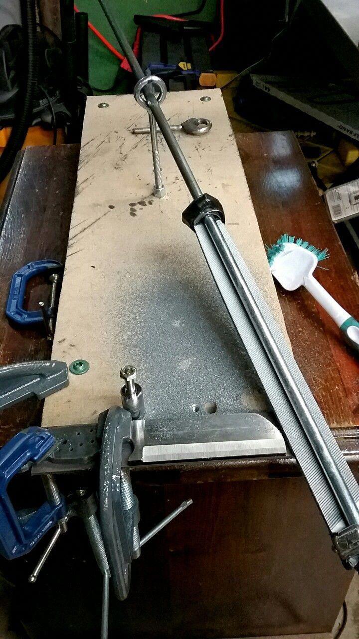 Knife Making For Beginners Weldingtable Knife Making